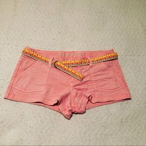 Coral summer shorts from Mossimo Supply Co